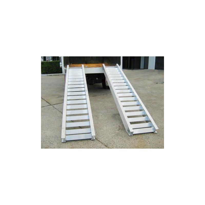 Coppia di rampe in alluminio per carico e scarico for Rampe carico alluminio