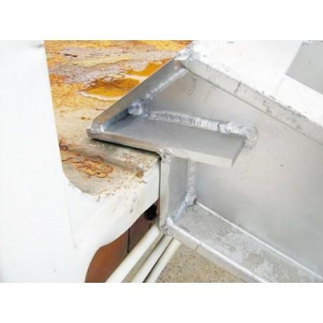 Coppia di Rampe in Alluminio per Carico e Scarico