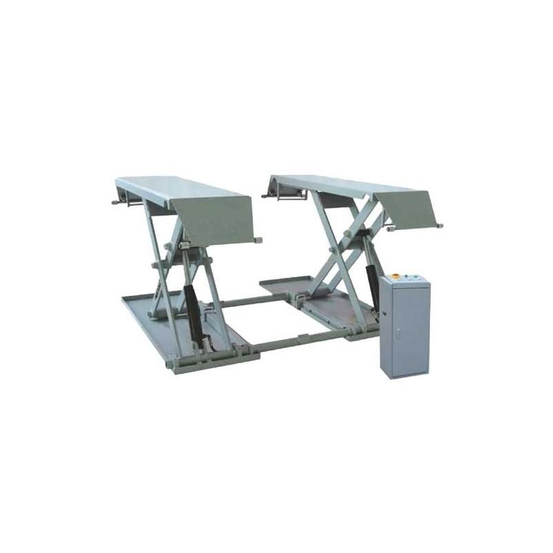 Ponte sollevatore a forbice mobile per auto 3000 kg for Ponte sollevatore auto a forbice