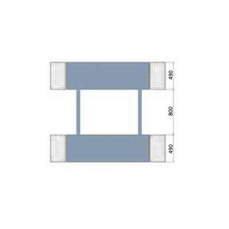 Ponte sollevatore a forbice mobile per auto 3000 kg for Ponte sollevatore auto 220v usati