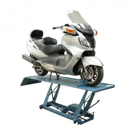 Ponte sollevatore a forbice per moto 400 kg for Ponti sollevatori per auto usati