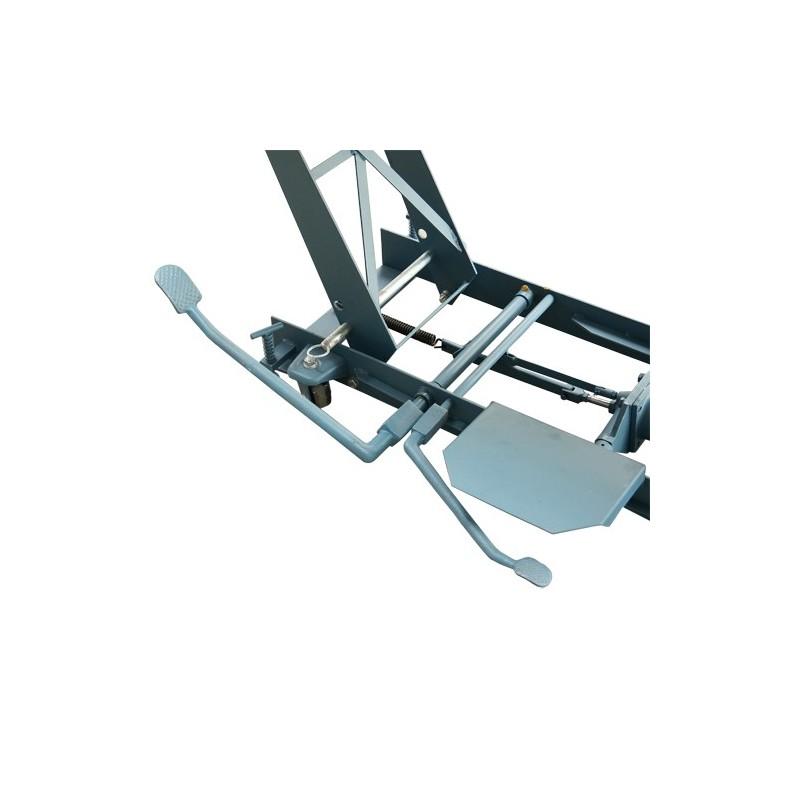 Ponte sollevatore a forbice per moto 400 kg for Ponte sollevatore a forbice