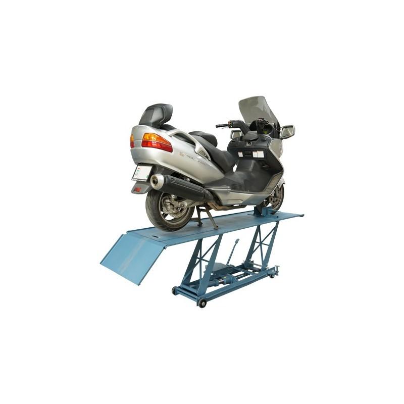 Ponte sollevatore a forbice per moto 400 kg for Ponte sollevatore auto 220v usati