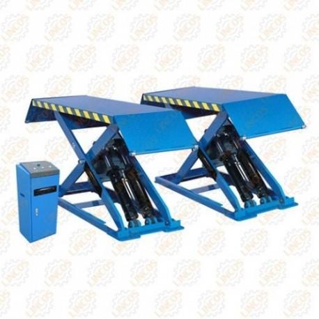 Ponte sollevatore a forbice 3000 kg for Ponti sollevatori per auto usati