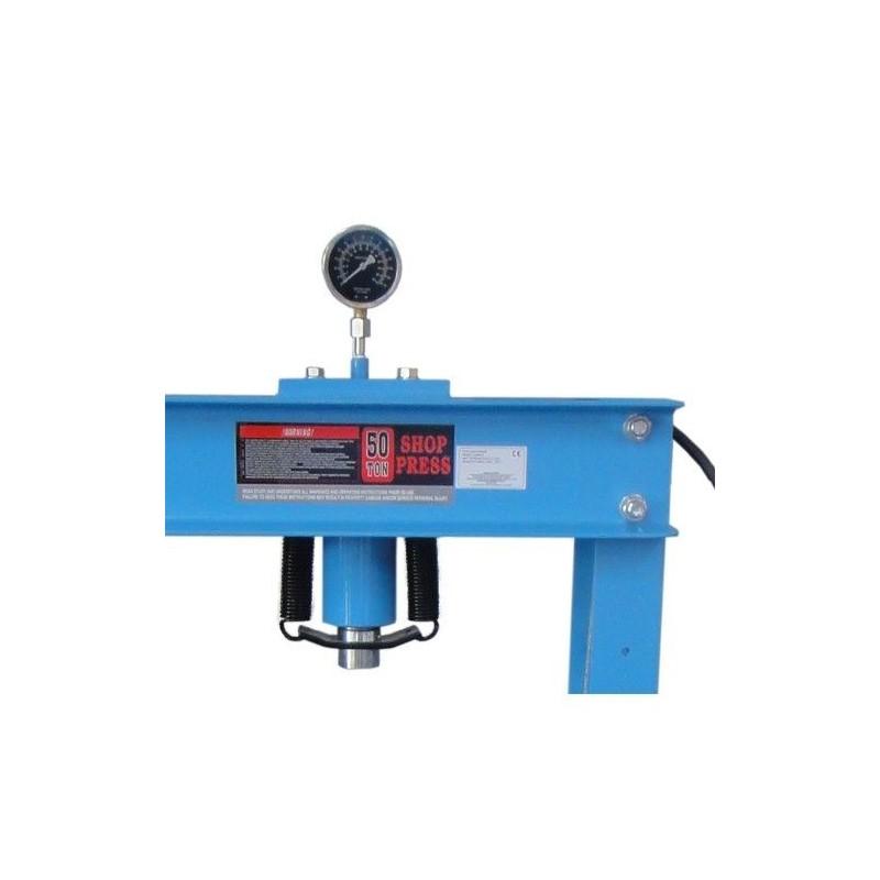 Pressa idraulica professionale per officina meccanica 50 for Pressa usata per officina