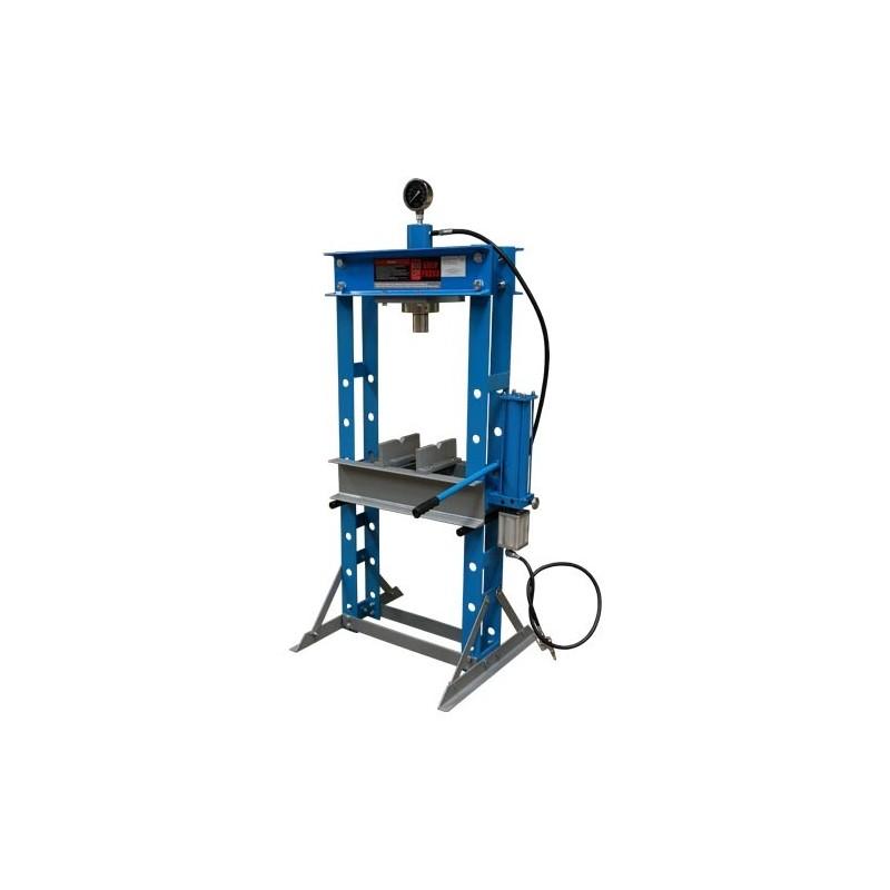 Pressa pneumatica idraulica per officina meccanica 30 tons for Pressa idraulica per officina