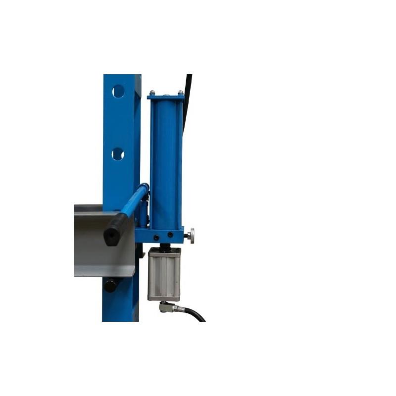 Pressa pneumatica idraulica per officina meccanica 30 tons for Pressa idraulica per officina usata