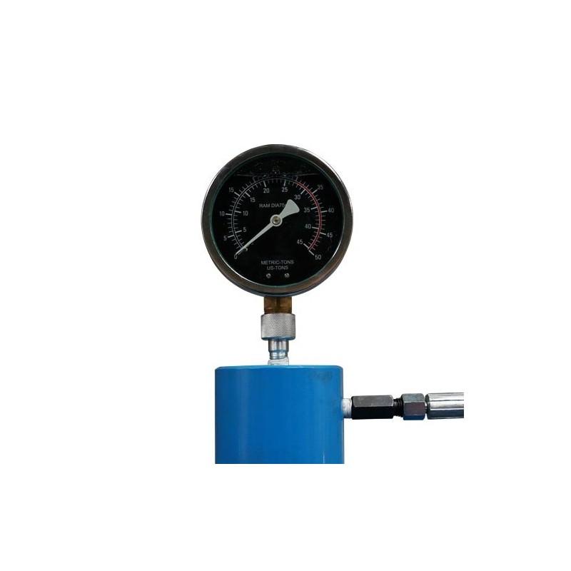 Pressa pneumatica idraulica per officina 30 tons for Pressa idraulica per officina