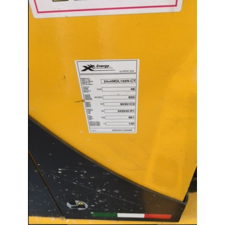 Carrello Elevatore Elettrico Retrattile 14 q.li - OM